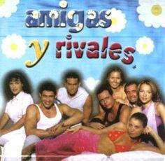 Amigas y Rivales..de las últimas novelas rescatables del Sr Emilio La Rosa