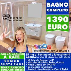 BAGNO COMPLETO OFFERTE PREZZI a partir da € 490 PROMOZIONI BAGNI ...