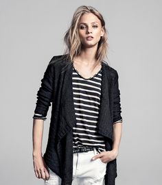 Anna Selezneva for WINTER lookbook Mango 2013