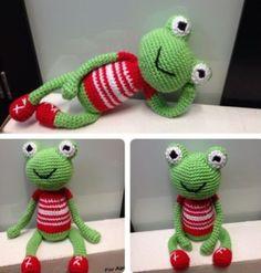 Frog Crochet Pattern All The Best Ideas