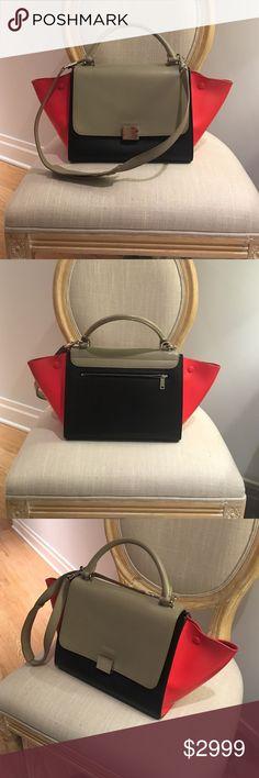 Celine Trapeze bag Excellent condition. Bought from Bergdorf Goodman June 2015. Celine Bags Shoulder Bags