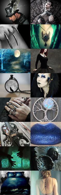 Glow in the Dark by Valentina Ra on Etsy--Pinned with TreasuryPin.com