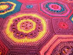 Crochet--octagons and squares