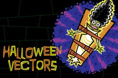 Halloween Vectors by Steckfigures is available from CreativeMarket for $15.