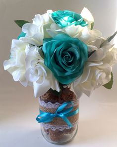 A personal favorite from my Etsy shop https://www.etsy.com/listing/278888138/silk-rose-floral-bouquet-wedding-flowers