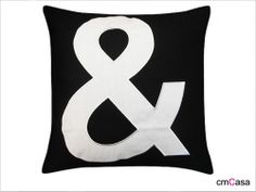 =cmCasa= 2866  White & Mark  Throw Pillow Case/Cushion Cover