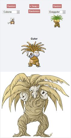 Pokemon Fusion Alternative Art Collection poor pokemon it looks so sad