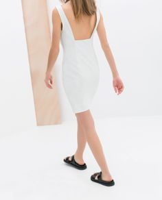 FITTED DRESS from Zara