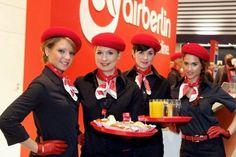 Air Berlin flight attendants.