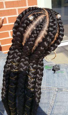 Feed In Braid, Hair Hacks, Cute Hairstyles, Curls, Natural Hair Styles, Braids, Dreadlocks, Beauty, Bang Braids