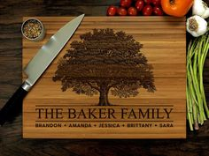 Your place to buy and sell all things handmade Custom Cutting Boards, Engraved Cutting Board, Personalized Cutting Board, Engraved Gifts, Personalized Wedding Gifts, Cool Watches For Women, Top Wedding Trends, Wedding Ideas, Wedding Details