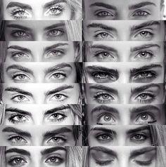 Cara Delevingne's eyebrows.