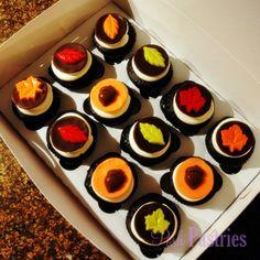 Chocolate Thanksgiving Cupcake
