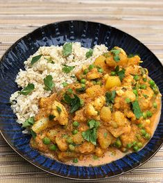 Korma - Straight Up Food Delicious Vegan Recipes, Raw Food Recipes, Veggie Recipes, Indian Food Recipes, Healthy Recipes, Ethnic Recipes, Vegan Meals, Veggie Food, Rice Recipes