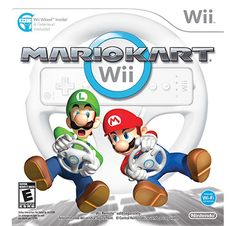 Mario Kart Wii with Wii Wheel (Bundle) . Starting at $15 on Tophatter.com!