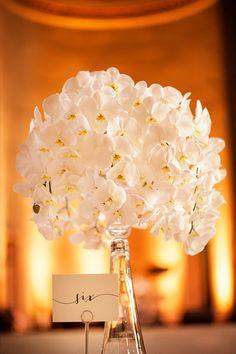 Photo: Connor Studios - wedding centerpiece idea