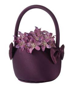 Plum Flower Basket - LRFB680PL
