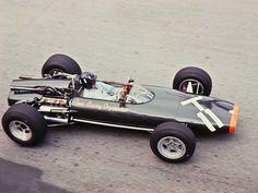 Graham Hill, BRM P83 131 1966 Monaco Grand Prix practice