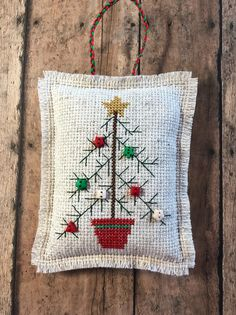 Excited to share the latest addition to my shop New Button Cross Stitch Christmas Ornament Personalized Gift Rustic Christmas Decoration Folk Art Ornament Keepsake Gift C. Rustic Christmas Ornaments, Cross Stitch Christmas Ornaments, Xmas Cross Stitch, Christmas Embroidery, Personalized Christmas Ornaments, Cross Stitching, Cross Stitch Embroidery, Christmas Cross Stitch Patterns, Button Ornaments