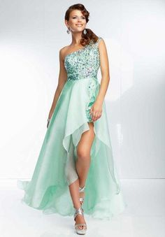 Mori Lee 95054 Powder Blue High and Low Homecoming Dresses