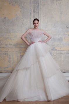 Georges Hobeika Frühjahr/Sommer 2020 Bridal - Fashion Shows Georges Hobeika, Bridal Dresses, Wedding Gowns, Party Dresses, Lace Wedding, Dream Wedding, Cinderella Gowns, Ashi Studio, Monique Lhuillier