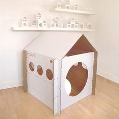 Cocoro playhouse - cardboard $49 www.noriokids.com