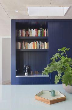 Storage detail. Gable House | Clare Cousins Architects