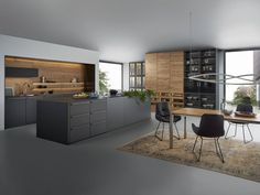 contemporary kitchen interior Why You Should Remodel Your Kitchen to a Modern Kitchen Kitchen Design Trends 2018, Best Kitchen Designs, Modern Kitchen Design, Interior Design Kitchen, Room Interior, European Kitchens, Luxury Kitchens, Cool Kitchens, Modern Kitchens