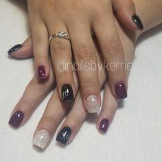 "36 Likes, 1 Comments - Kerrie Ficklin (@nailsbykerrie) on Instagram: ""#nails #gelnails #nailart #lightelegance #classynails #girlynails #prettynails #glittergel…"""