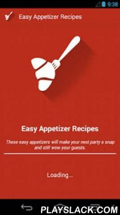 Easy Appetizers Recipe  Android App - playslack.com , When it is time to come up with a party menu idea, never allow the first course to fall back. Appetizers give the advantage of hunger and getting to know more on what's being served. They are also super fast options that make a dinner party take its first leap.Everyone loves some appetizers before their main course. If you had been searching for new options, this app can do you a lot of good.Application contains following features:1)…