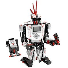 Unleash the creative powers of LEGO MINDSTORMS Then use the intuitive drag-and-drop interface to program your favorite robots to walk, talk, think and do anything you can imagine. The LEGO MINDSTORMS robot revolution continues! Lego Technic, Lego Mindstorms Ev3, Robot Lego, Build A Robot, Robot Kits For Kids, Robots For Kids, Kids Toys, 4 Kids, Baby Toys