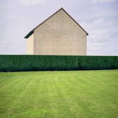 'Habitat' by Belgian photographer Xavier Delory, throws a look at the stereotyped houses that monopolizes the countryside in Belgium (as well as many other western countries). Architecture Details, Landscape Architecture, Amazing Architecture, Istanbul, White Building, Field Of Dreams, Types Of Houses, Habitats, Countryside