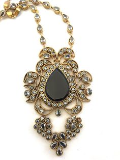Black Ivy Necklace
