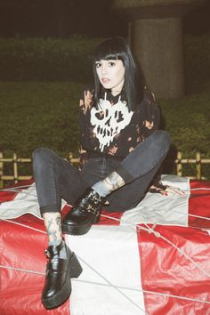 dropdeadclothing:  BURNT CROP PULLOVER (SKULL FUCKED EDITION) //WWW.DROPDEAD.CO