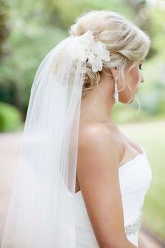 Pinterest Wedding Hairstyles For Your Unforgettable Wedding ❤ See more: http://www.weddingforward.com/pinterest-wedding-hairstyles/ #weddings