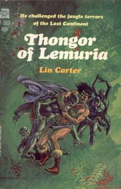 Ace Books - Thongor of Lemuria - Lin Carter
