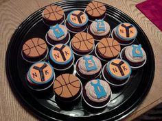 NY Knicks cupcakes