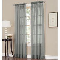 Shop ATI Home Alegra Thermal Woven Blackout Grommet Top Curtain Panel Pair - On Sale - Free Shipping Today - Overstock - 18590736 Voile Curtains, Sheer Curtain Panels, Hanging Curtains, Panel Curtains, Curtains Living, Home Decor Store, Home Decor Outlet, Curtain Styles, Thing 1