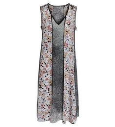 KENZO Abito Lungo Kenzo Con Stampa Multicolor Fiori.  kenzo  cloth  dresses 37ba7985097