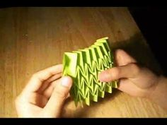 ▶ How To Make A Magic Origami Ball ! - YouTube
