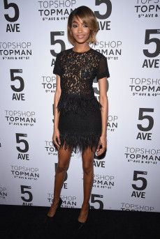 Jourdan Dunn attends the Topshop flagship store opening on November 4, 2014 in New York City