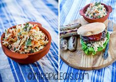 Coleslaw recipe with radishes and herbs. Radish Recipes, 30 Minute Meals, Coleslaw, Bacon, Good Food, Herbs, Cheese, Ethnic Recipes, Gourmet