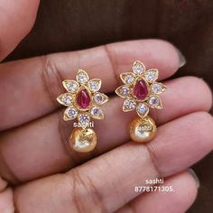 1 ct Natural Kanchanaburi Sapphire Stud Earrings with Diamonds in White Gold – Jewelry & Gifts Diy Gold Earrings, Gold Earrings Designs, Gold Jewellery Design, Stud Earrings, Handmade Jewellery, Jewellery Sale, Indian Earrings Gold, Silver Bracelets, Sterling Silver Jewelry