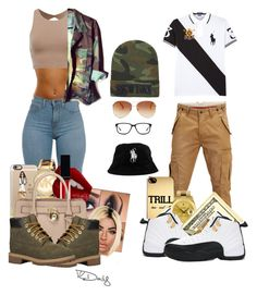 """""""Gold Slugs"""" {Chris brown} August Alsina {Fetty Wap}"""" by loyalartist607 ❤ liked on Polyvore featuring SELECTED, ASAP, Rolex, Polo Ralph Lauren, Retrò, Casetify, Michael Kors, Charlotte Tilbury, Witchery and MICHAEL Michael Kors"""