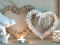 DIY Puzzle Heart