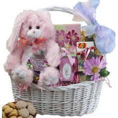Art of Appreciation Gift Baskets My Special Bunny Easter Gift Basket, Pink/Purple Bunny Rabbit.  List Price: $59.99  Savings: $10  Sale Price: $49.99