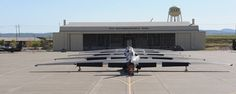 Actually, you can spot more than five U-2 Drangon Lady aircraft in this cool image Beale Air Force Base, home of the 9th Reconnaissance Wing, north of Sacramento, hosts the last U.S. Air Force's U-...