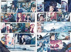 만화 애니메이션 전문 교육기관 애니포스에 오신 것을 환영합니다.#애니포스 #애니포스연구작 #애니포스미술학원 #만화학원 #만화애니 #연구작 #애니포스연구작 #만화입시 #2014연구작 (aniforce.co.kr/) Comic Layout, Comics Story, Comic Panels, Manga Pages, Storyboard, Novels, Drawing Style, Illustration, Animation