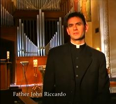 """Fr. John Riccardo - scroll down part way and find the link where it says """"a woman with very good organizational indexed many of the talks""""  here.  Click on that and you can listen to many of his recorded talks online!  The best Catholic preacher of our time -- awesome resource!!!"""