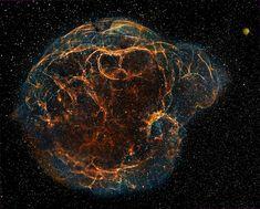 Simeis 147 supernova remnant [1800 x 1449]